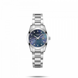 Longines conquest classic bleu