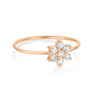 Bague Single Diamond Star