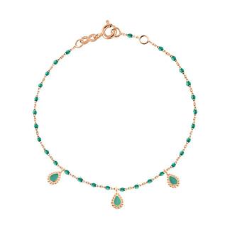 Bracelet Lucky Cashmere émeraude