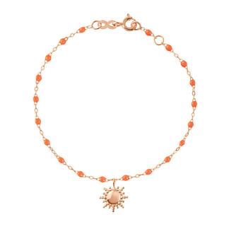 Bracelet Soleil orange