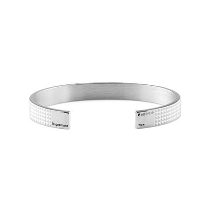 Bracelet ruban guilloché