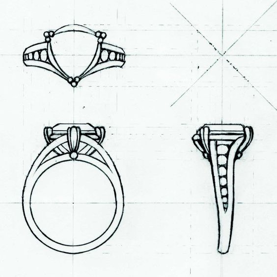 Croquis bijoux
