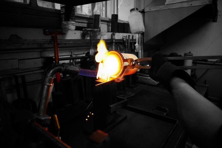 Image fonte de métaux
